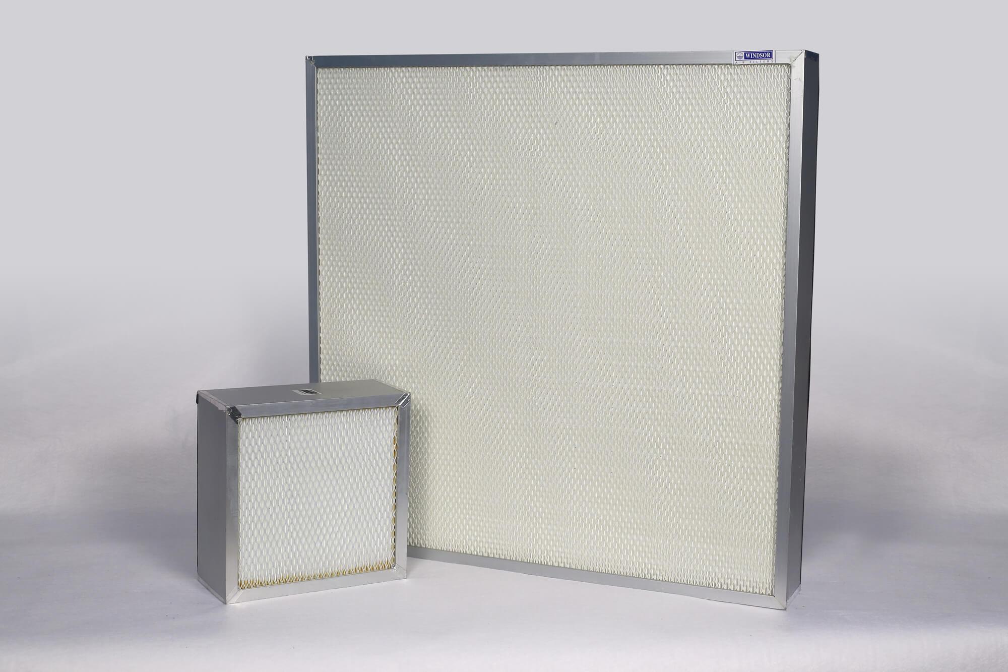 Windsor-AirFilters-HVAC-Clean-Rooms-Fine-HEPA-Filters-Mini-Pleat